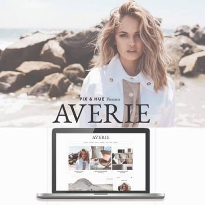 Averie Blog and Shop Theme