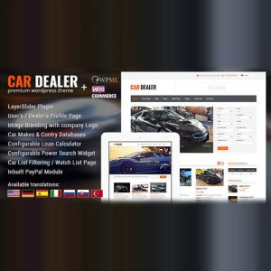 Car Dealer Automotive WordPress Theme Responsive