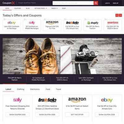 Coupon WordPress Theme MyThemeShop