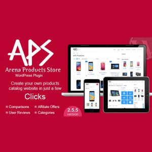 Arena Products Store WordPress Plugin
