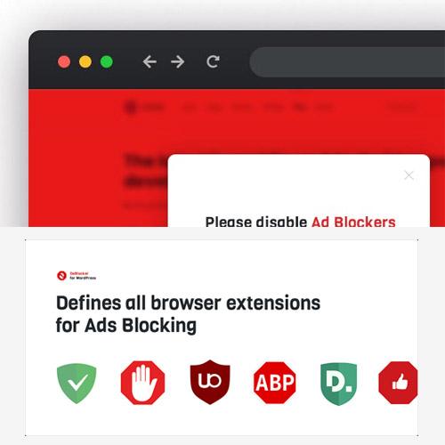 DeBlocker Anti AdBlock for WordPress