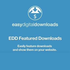 Easy Digital Downloads Featured Downloads