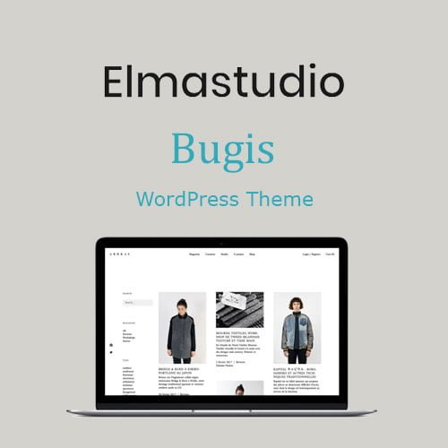 ElmaStudio Bugis WordPress Theme