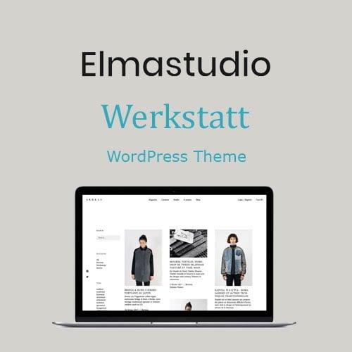 ElmaStudio Werkstatt WordPress Theme