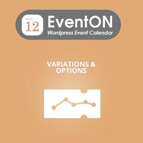 EventON Ticket Variations & Options