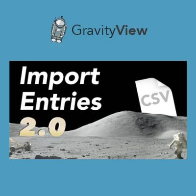 GravityView Gravity Forms Import Entries