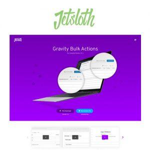 Jetsloth Gravity Forms Bulk Actions Pro