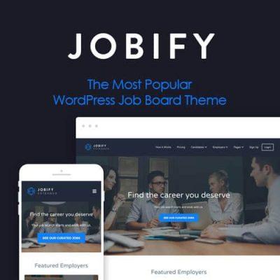 Jobify The Most Popular WordPress Job Board ThemeJobify The Most Popular WordPress Job Board Theme