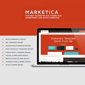 Marketica eCommerce and Marketplace – WooCommerce WordPress Theme