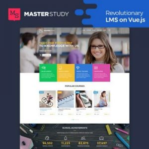 Masterstudy Education LMS WordPress Theme