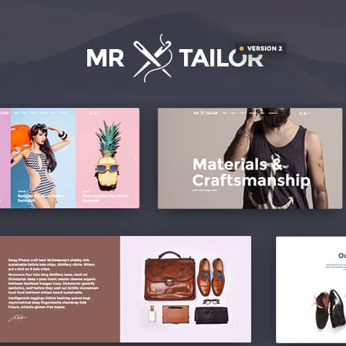 Mr. Tailor Responsive WooCommerce Theme