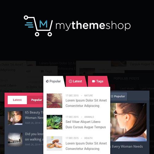 MyThemeShop WP Tab Widget Pro