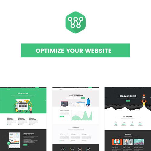 Optimize – SEO, Digital Marketing, Social Media Theme