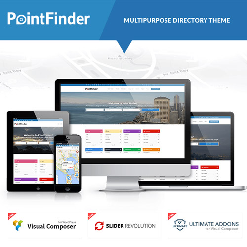 Point Finder Directory – Directory & Listing WordPress Theme