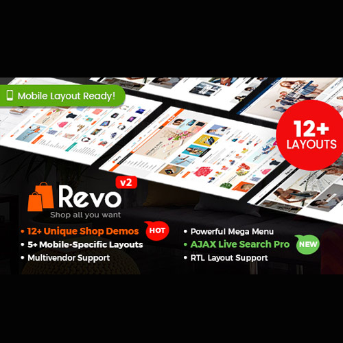 Revo Multipurpose WooCommerce WordPress Theme