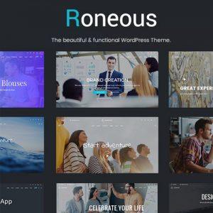 Roneous Creative Multi-Purpose WordPress