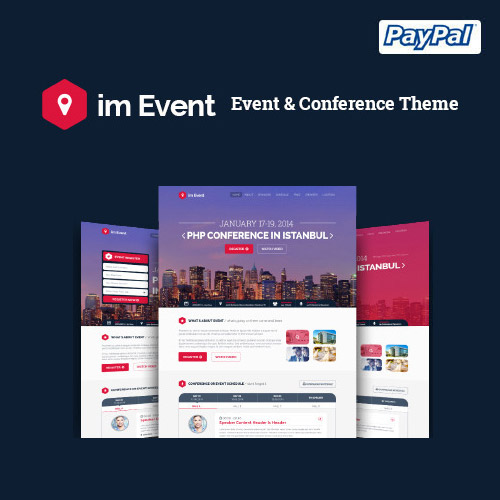im Event Event & Conference WordPress Theme