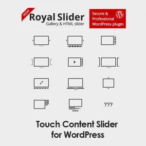 RoyalSlider Touch Content Slider for WordPress