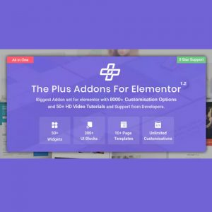 The Plus Addon for Elementor Page Builder