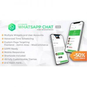 Ultimate WhatsApp Chat – WordPress WhatsApp Chat Support Plugin