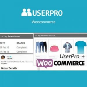 UserPro – WooCommerce Integration