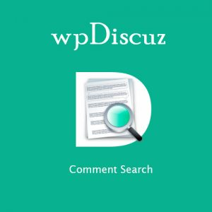 wpDiscuz Comment Search