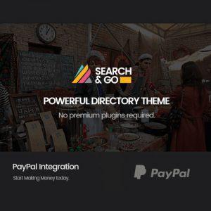 Search & Go – Smart Directory Theme