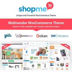ShopMe Multi Vendor Woocommerce WordPress Theme