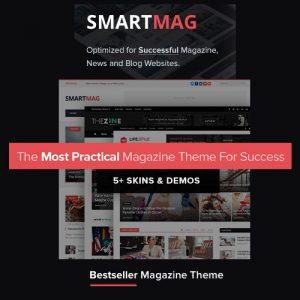 SmartMag – Responsive & Retina WordPress Magazine