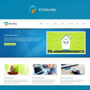 Sterling – Responsive WordPress Theme