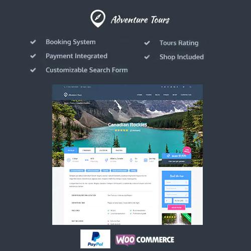 Adventure Tours – WordPress Tour/Travel Theme
