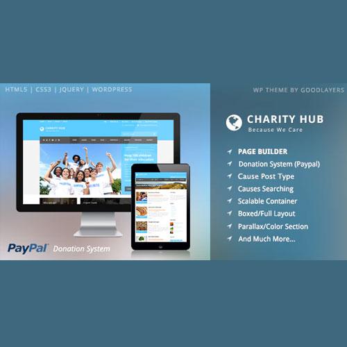 Charity Hub – Nonprofit / Fundraising WordPress