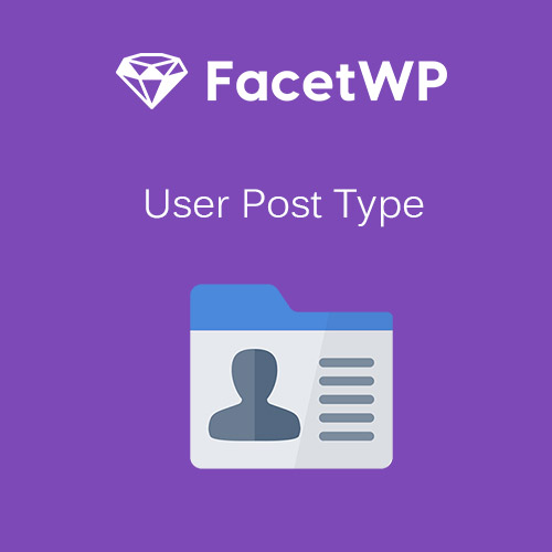 FacetWP – User Post Type