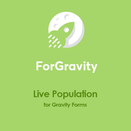 ForGravity – Live Population for Gravity Forms