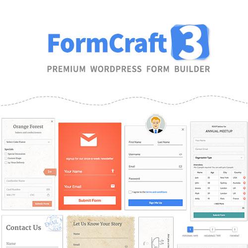 FormCraft – Premium WordPress Form Builde