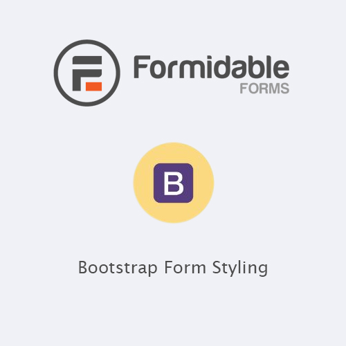 Formidable Forms – Bootstrap Form Styling