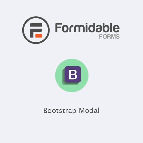 Formidable Forms – Bootstrap Modal