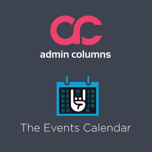 Admin Columns Pro Events Calendar