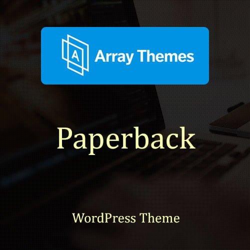 Array Themes Paperback WordPress Theme