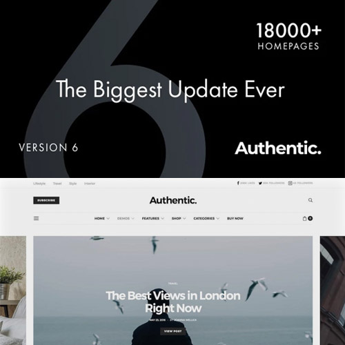 Antic – Lifestyle Blog & Magazine WordPreThemeuthess