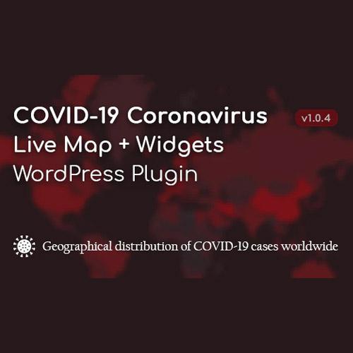 COVID-19 Coronavirus – Live Map & Widgets for WordPress