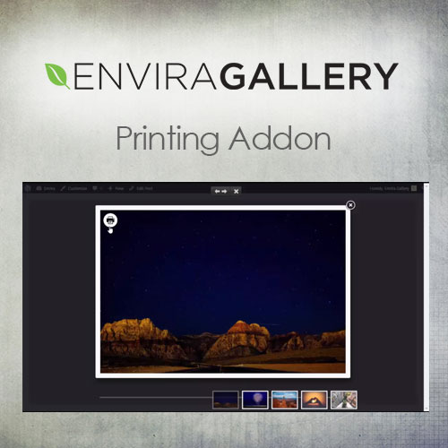 Envira Gallery – Printing Addon