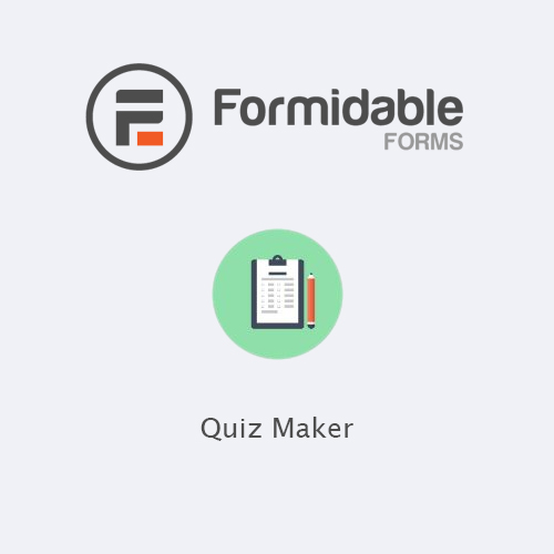 Formidable Forms – Quiz Maker