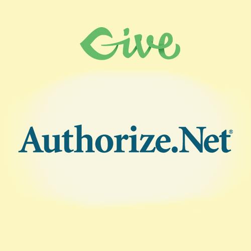 Give – Authorize.net Gateway