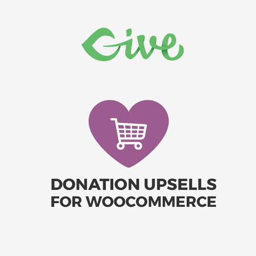 Give – Donation Upsells for WooCommerce