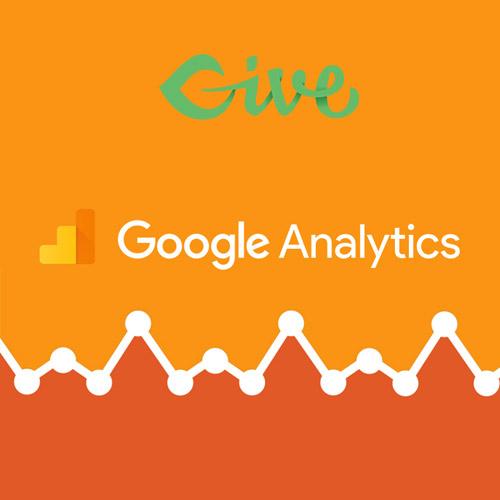 Give – Google Analytics Donation Tracking
