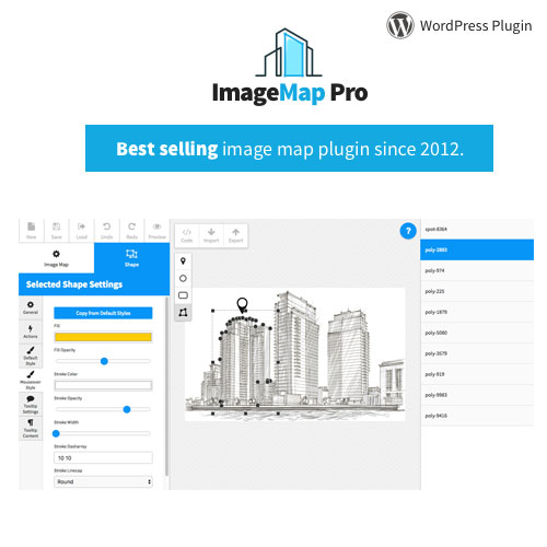 Image Map Pro for WordPress – Interactive Image Map Builder