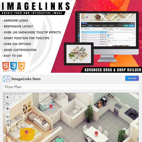ImageLinks – Interactive Image Builder for WordPress
