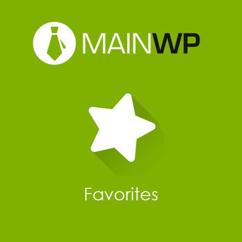 MainWP Favorites