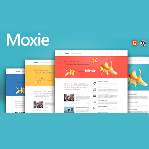 Moxie – Responsive Theme for WordPress